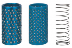 AluminiumPresicion Kugel-Rahmen-Halteringe, Führungs-Peilung-Kugel-Zwischenlage-Rahmen, kupferner Fzh Kugel-Haltering