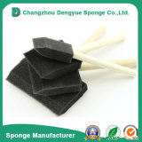 Nueva espuma plástica del cepillo del rodillo de pintura de la esponja de los cepillos de la espuma de la maneta