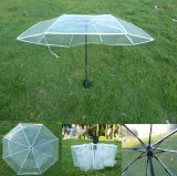 투명한 Poe 여행 공간 우산