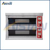 Kpo-X4 Comercial elétrica de 2 Camadas 4 Bandeja de forno de pizza /forno para assar o pão com EGO o Termostato
