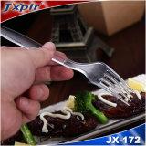 Vaisselle en plastique de poids moyen remplaçable promotionnel pour la cuillère de fourche de couteau