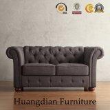 高品質の居間の家具デザインファブリックチェスターフィールドのソファー(HD459)