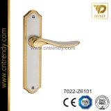 Цинкового сплава Wc конфиденциальности рукоятка рычага двери на подложку (7022-Z6101-KR4)