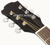 """Guitare acoustique du Basswood 40 de musique d'Afanti """" (AAG-111)"""