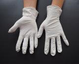 Перчатки нитрила, перчатки работы, сверхмощно, устранимые, порошок освобождают, промышленно, 9 дюймов, бело