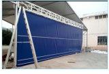 Tela de PVC flexible de la puerta de elevación