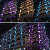 Rondelle AC100-240V della parete di RGB LED