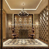 De Beige Zwarte Gouden Witte Marmeren Tegel van China voor het Project van de Muur en van de Vloer