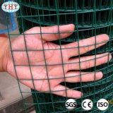 庭のための1/4インチのPVCによって塗られる溶接された網