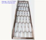 Projets de construction d'acier inoxydable pour l'usine de métal ouvré de décoration de Chambre