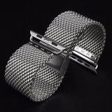 Cinturino di vigilanza tessuto della maglia dell'acciaio inossidabile per Iwatch