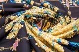 Eleganter schöner Silk kundenspezifischer Schal 100% der Dame-Natual