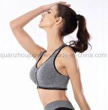 OEM нейлоновые молнии спортивных фитнес-йога бюстгальтер