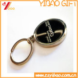 Metal modificado para requisitos particulares Keychain (YB-MK-14) de Ebossed de la insignia