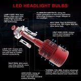 Conjunto de la linterna del enchufe del vatiaje Hb4 LED de la motocicleta 25 y del coche LED de las linternas IP68 9006 del juego
