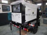 Tipo silencioso trifásico gerador do diesel de 10 quilowatts