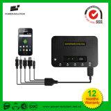 Het draagbare ZonneSysteem van de Verlichting van het Huis met 4 Bollen en USB Telefoon Cahrger