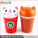 Новые Squishy Cathead кофе PU медленным ростом Squishies игрушка