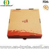 Rectángulo de encargo del cartón de la pizza del papel de Brown/rectángulo acanalado de la pizza