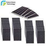 200W возобновляемых солнечных батарей солнечной энергии в режиме монохромной печати панели управления