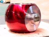 Esfera de acero inoxidable forjado bola para las válvulas de bola