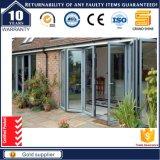 Puertas de plegamiento de lujo del marco de aluminio caliente de la venta