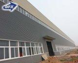 Estructura de acero ligera de China vertida/almacén/taller