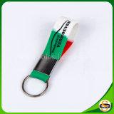 Silicón modificado para requisitos particulares el silicón puro más nuevo Keychain de la insignia del estilo el 100%