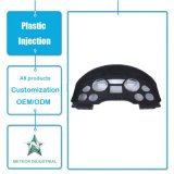 Modanatura di plastica personalizzato del cuscino ammortizzatore dell'automobile dei ricambi auto modellato iniezione di plastica