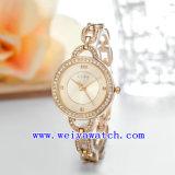 Custom Logo Watch reloj en acero inoxidable (WY-039A)