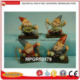 Jardim de resina de polipropileno mais barato o Gnome Figurine para Decoração Brindes Promocionais