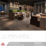 """Серое здание в деревенском стиле материала керамический пол из фарфора шесть углы плитки (VR6N5208, 520X600мм/20''X24"""")."""