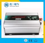 C.C de 2500W 12V 24V à l'inverseur pur d'onde sinusoïdale d'UPS à C.A. 110V 230V avec le chargeur