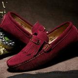 Schoenen srx0907-1 van de Tennisschoen van de Vleet van het Leer van het Suède van de Mensen van de manier Toevallige (15