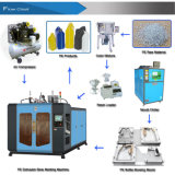 Máquina automática del moldeo por insuflación de aire comprimido de la protuberancia de los PP 1-5L del HDPE