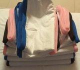 Protector de la almohadilla con el escudete invisible del acoplamiento de la cremallera y del aire