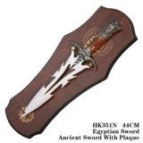 Украшение таблицы шпаг рыцаря все украшение 48cm HK351 дома металла