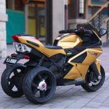 La rueda embroma paseo con pilas en las motocicletas