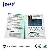 4.3 Farben-Video-Digital-Drucken-Broschüre des Zoll-Multifunktions-TFT für Geschäft