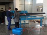 Machine de découpage automatique de configuration de tissu de livre témoin de tissu