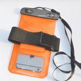 フライフィッシングのより大きいサイズの防水電話袋