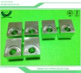 鋼片によって製造されるアルミニウムCNCの機械化の金属部分