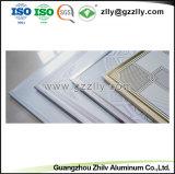 La Chine beau revêtement du rouleau d'impression d'aluminium métal pour la construction de la décoration de plafond