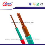 0.5mm2 - 6mm2炎-抑制剤BVV BV銅のConductoreの単心ケーブルの固体コンダクターケーブル