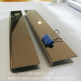 Mirrror Finish Stainless Steel SS304 U Chanel for Edge Protection