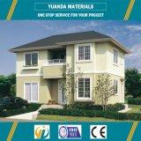 Hogar movible del chalet de Filipinas de la nueva del diseño casa prefabricada del bajo costo
