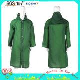 Cappotto di pioggia adulto lungo di modo durevole del poliestere di alta qualità