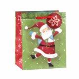 Bolsa de papel del viejo hombre del Patten de Ho Ho Ho del Patten del regalo de la Navidad