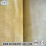 Cobre, pano de engranzamento quadrado padrão de bronze de pano de fio da classe do mercado
