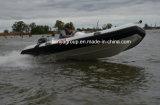 Liya 14FT costela barco inflável rígida barcos com motor de popa